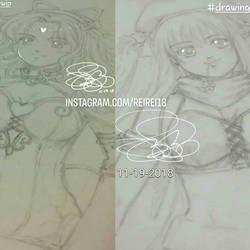 OC sketch by reirei18