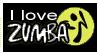 stamp: I love ZUMBA by MoNyOh