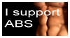 stamp: I support ABS by MoNyOh