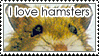 stamp: hamster lover by MoNyOh