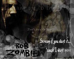 rob zombie wallpaper by MoNyOh