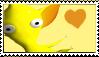 Yellow Pikmin Stamp by Lady-Zephyrine