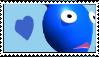 Blue Pikmin Stamp by Lady-Zephyrine
