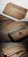 Letter Style Business Card 2 by vitalyvelygo
