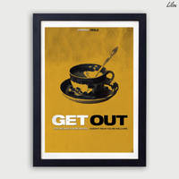 Get Out minimalist movie poster by LilouFranchise