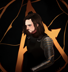The Winter Soldier by dorkcoffee