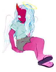 Casual celestial by 8rabbit