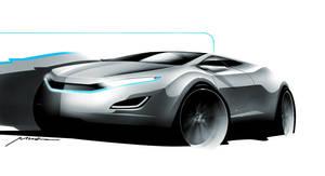 car sketch again by diemais