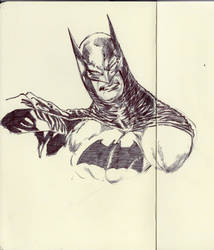 BATS ON MOLESKINE (SCANNED) by AgostinoF