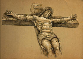In Christ Alone by PaperCutIllustration