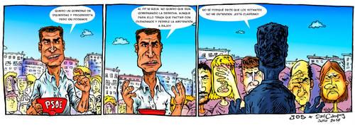 Pedro Sanchez Tira by wufus