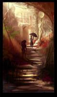 Sunlit Passage by ArtofTy