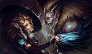Beauty and the Beast by ArtofTy