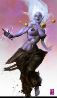 Lady Oni by ArtofTy