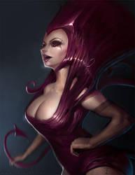 The Mauve Maiden by ArtofTy