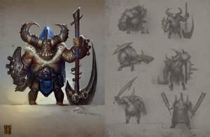 Ogre Knight by ArtofTy