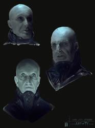 Dark City Studies by ArtofTy