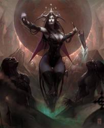 Myrym Empress of the Crypt by ArtofTy