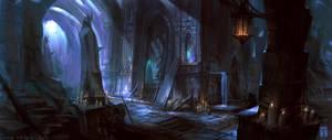 Haunted Ruins by ArtofTy