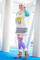 Super Sonic Lets Go by catchancosplay