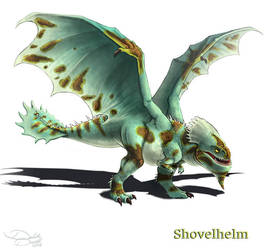 Shovelhelm by Voltaic-Soda