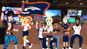 Super Bowl Victory Party by REMcMaximus