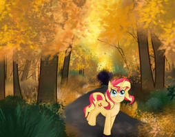 Autumn Sunset by REMcMaximus