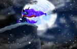 Moonlit Blizzard by REMcMaximus