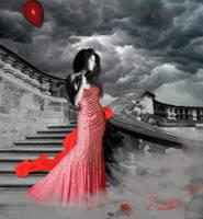 Lady In Red by bebasv