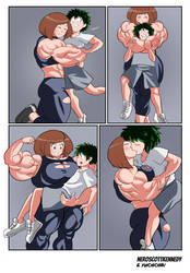 My Muscle Academia (Part 3) by NeroScottKennedy by Yuichichibi