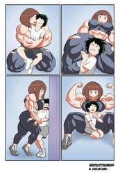 My Muscle Academia (Part 4) by NeroScottKennedy by Yuichichibi