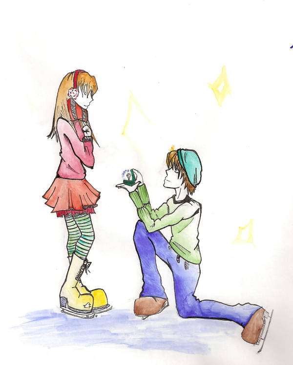Would You Be My Girlfriend By Disenchantedbullet On Deviantart