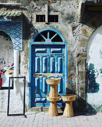 Blue in Essaouira, Marocco by rocksau
