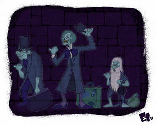 Hitchhiking Ghosts by edgar1975