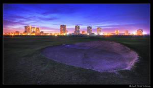 Aberdeen Night Golf by kihsleek