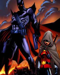 Jason Todd and Damian Wayne by Jon-t69