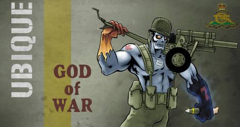 God of War by GreenBearBrummbar