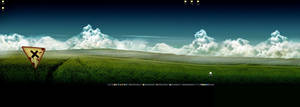 Work Desktop, 2009.07.28 by jarsonic