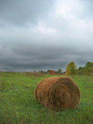 Haybale at Pasture by jarsonic