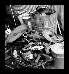 Mechanic's Junk Pile by EvlReaper04