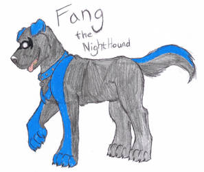 Request: Fang the NightHound by Lykaios-Garou