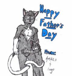 Father's Day: Amaro and Iago by Lykaios-Garou