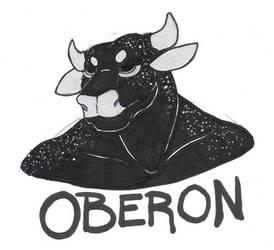 Resting Oberon by Lykaios-Garou