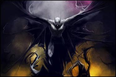 Batman by AndyFairhurst