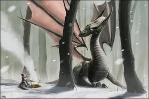 Sausage For The Sitting Dragon by AndyFairhurst