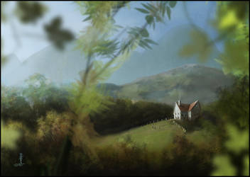House On The Hill by AndyFairhurst