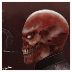 Red Skull by AndyFairhurst
