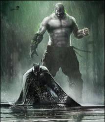 Batman - Bane by AndyFairhurst