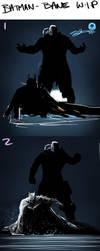 Batman - Bane WIP by AndyFairhurst
