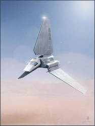 Imperial Shuttle by AndyFairhurst
